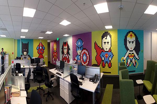 ve tranh tuong dep van phòng ve tranh tuong van phong dep gia re nhat - Vẽ tranh tường văn phòng đẹp