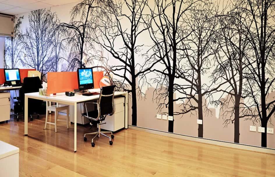 ve tranh tuong van phong 3 - Vẽ tranh tường văn phòng đẹp
