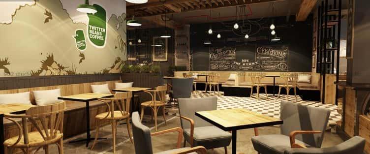 Tư vấn 10 thiết kế nội thất quán cafe tại Yên Bái