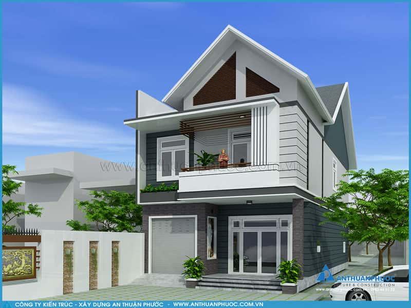 15 - Mẫu thiết kế nhà đẹp ở Thái Nguyên