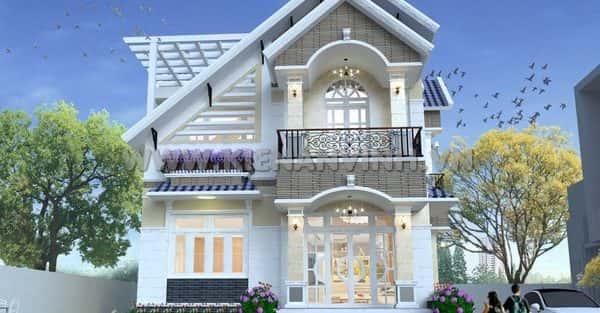 Tư vấn mẫu thiết kế biệt thự đẹp ở Thái Nguyên