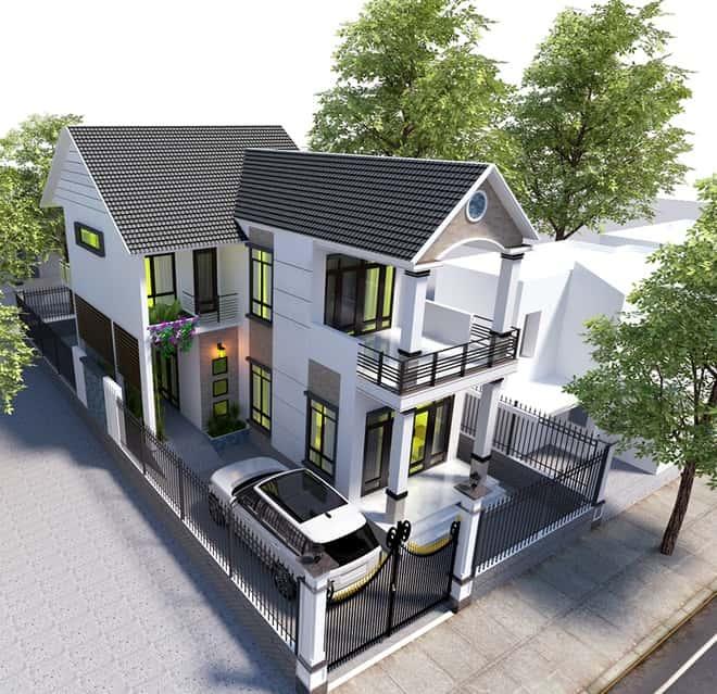 2 - Thiết kế nhà đẹp ở tại Hà Nội