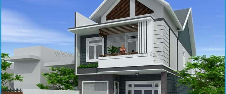 Tư vấn mẫu thiết kế biệt thự 3 tầng mini đẹp