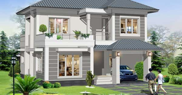 Tư vấn 10 mẫu thiết kế biệt thự phố đẹp