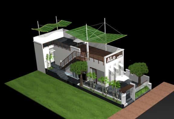 9 - Mẫu thiết kế nhà đẹp ở Tiền Giang