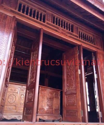 Nha go lim 5 - Thiết kế và thi công nhà gỗ đẹp