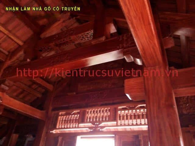 Nha go lim 9 - Thiết kế và thi công nhà gỗ đẹp