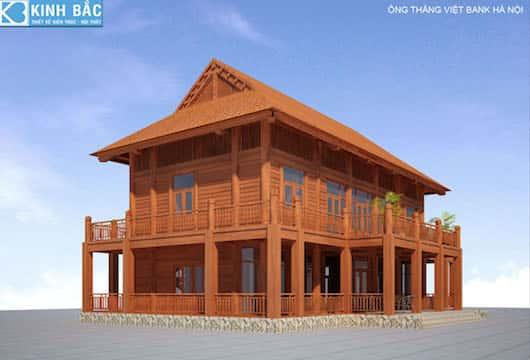 PHOI CANH CHINH - Thiết kế và thi công nhà gỗ đẹp