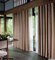 Rem phong thuy huong dong - mẫu rèm cửa biệt thự sang trọng