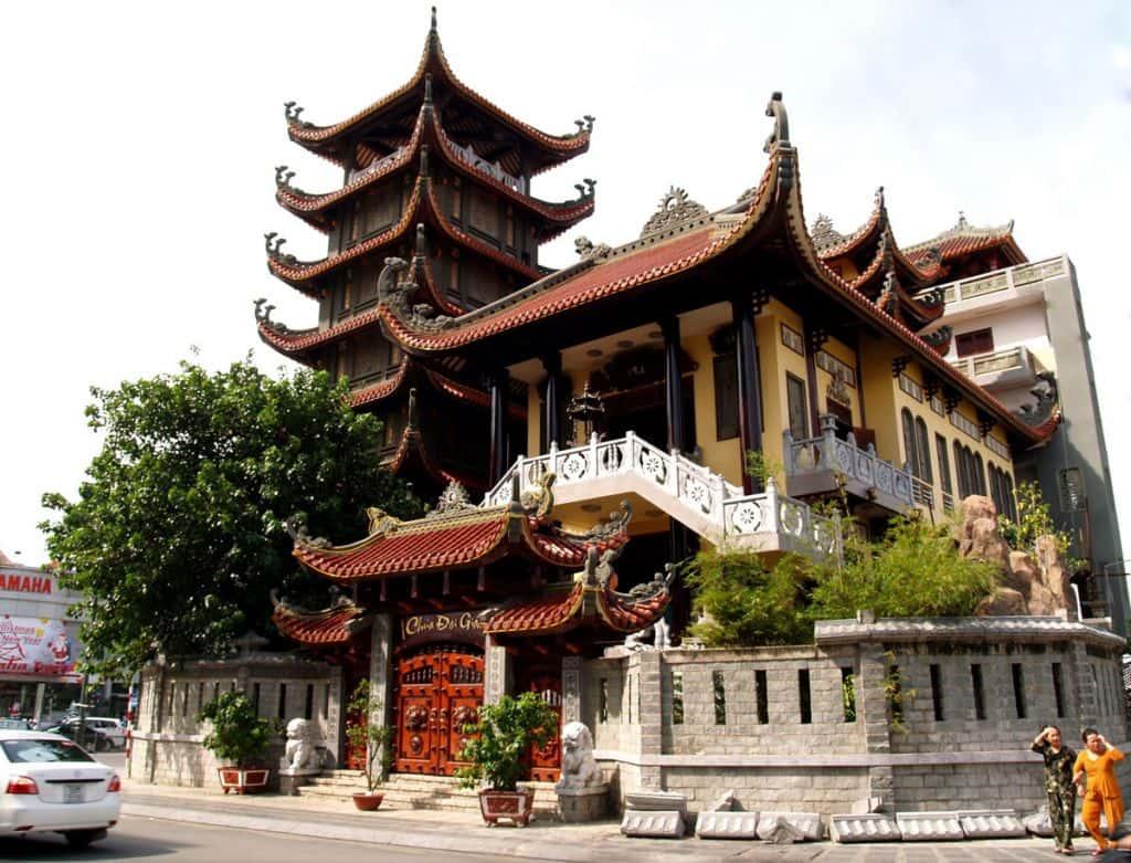 chua dai giac 01 - Kiến trúc độc đáo của Chùa Đại Giác