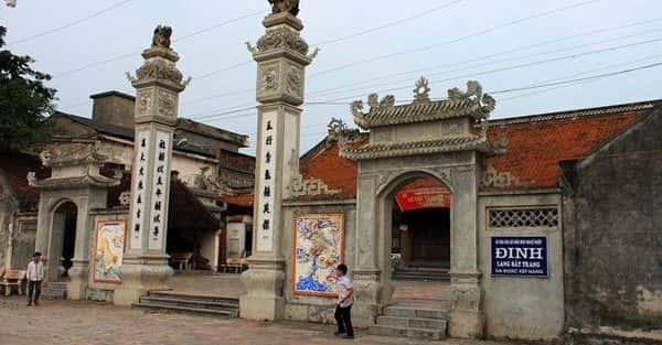 Kiến trúc độc đáo của Đình Bát Tràng (Hà Nội)