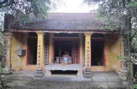 Kiến trúc độc đáo của Đình Ngô Khê Hạ (Ninh Bình)