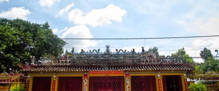 Kiến trúc độc đáo của Đình Tân Lân (Đồng Nai)