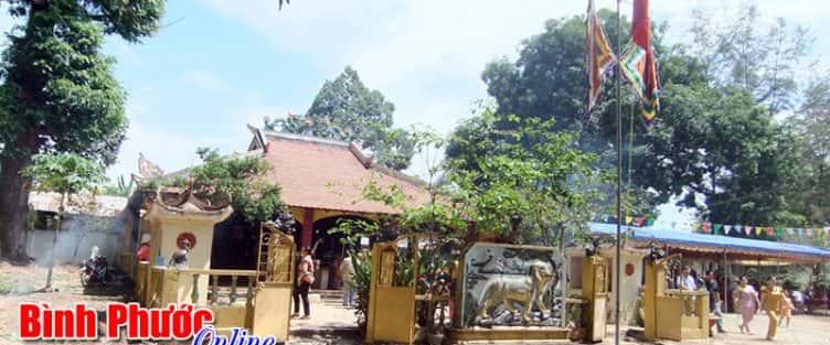 Kiến trúc độc đáo của Đình thần Hưng Long (Bình Phước)