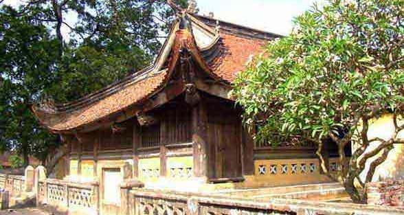 Kiến trúc độc đáo của Đình Thổ Hà (Bắc Giang)