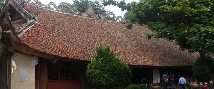 Kiến trúc độc đáo của Đình Thổ Tang (Vĩnh Phúc)