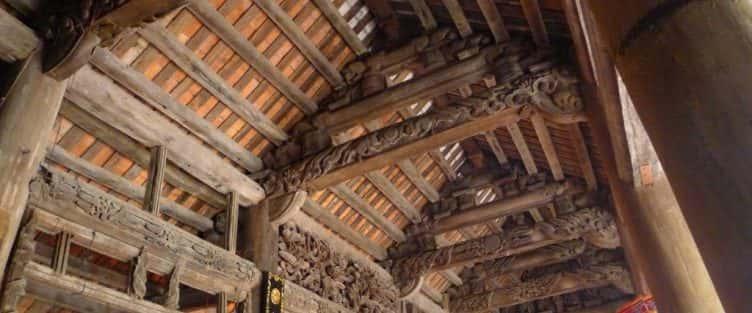 Kiến trúc độc đáo của Đình Trùng Hạ (Ninh Bình)