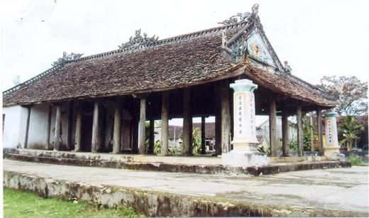 Kiến trúc độc đáo của Đình Yên Thành (Hoa Lư, Ninh Bình)