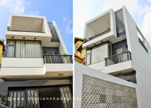 kien-truc-nha-pho-nhà 2 tầng 5x16m