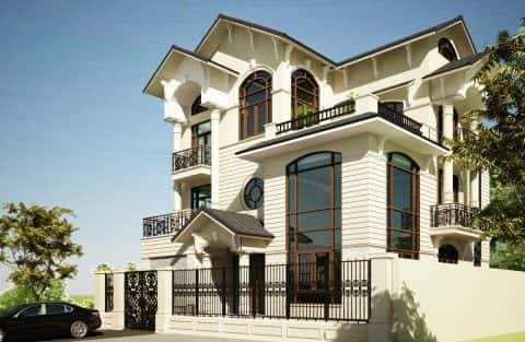 Tư vấn mẫu thiết kế biệt thự đẹp ở Đà Nẵng