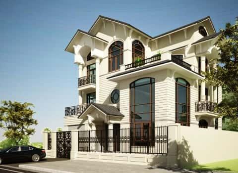 mau biet thu da nang - Tư vấn mẫu thiết kế biệt thự đẹp ở Đà Nẵng