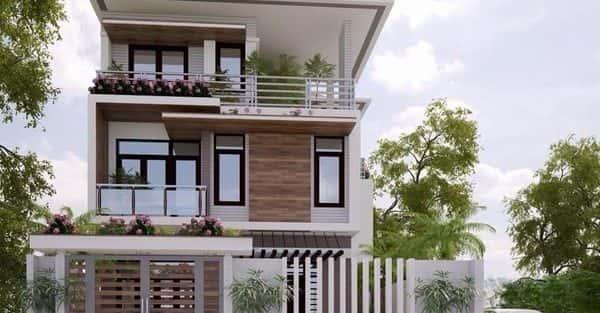 Mẫu thiết kế biệt thự đẹp ở Hòa Bình