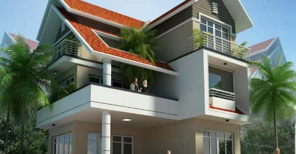 Mẫu thiết kế biệt thự đẹp ở Kon Tum