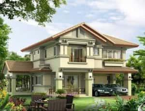 mau biet thu lam dong 300x229 - Mẫu thiết kế biệt thự đẹp ở Lâm Đồng
