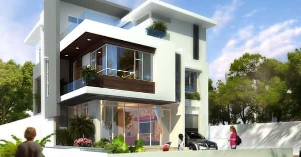 Mẫu thiết kế biệt thự đẹp ở Ninh Bình