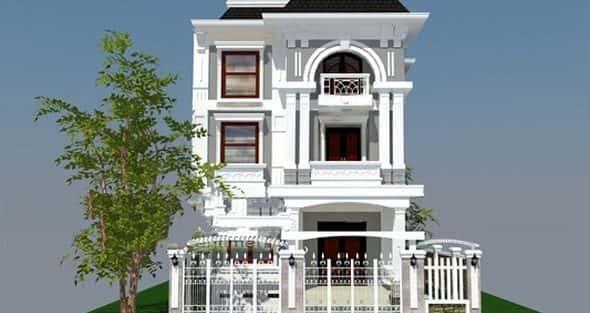 Mẫu thiết kế biệt thự đẹp ở Quảng Ninh