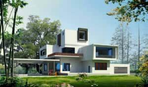 mau biet thu soc trang 300x177 - Mẫu thiết kế biệt thự đẹp ở  Sóc Trăng