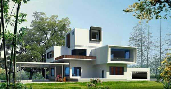 Mẫu thiết kế biệt thự đẹp ở  Sóc Trăng