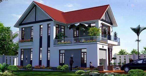 Mẫu thiết kế biệt thự đẹp ở Thái Bình