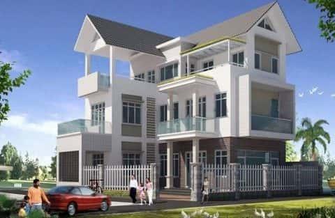 Mẫu thiết kế biệt thự đẹp ở Tuyên Quang