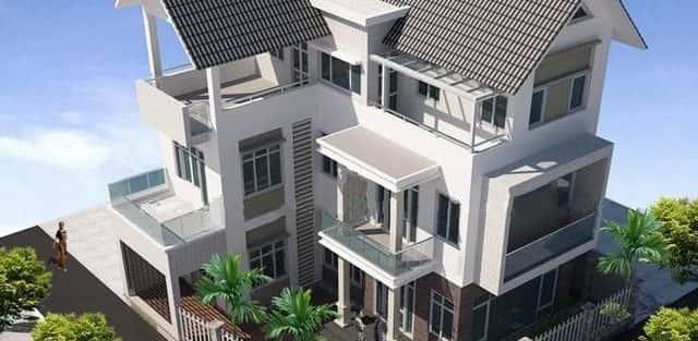 Mẫu thiết kế biệt thự đẹp ở Vĩnh Long