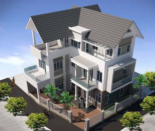 mau biet thu vinh long - Tư vấn mẫu thiết kế biệt thự đẹp ở Đà Nẵng