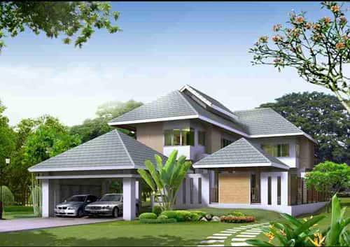 mau nha dep dak nak - Thiết kế nhà đẹp ở ĐắK LắK