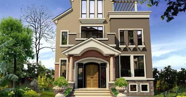 Mẫu thiết kế nhà đẹp ở Ninh Thuận