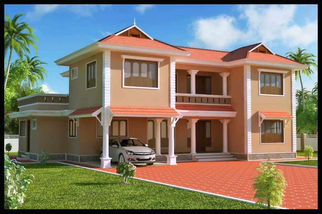 mau nha dep tien giang - Mẫu thiết kế nhà đẹp ở Tiền Giang