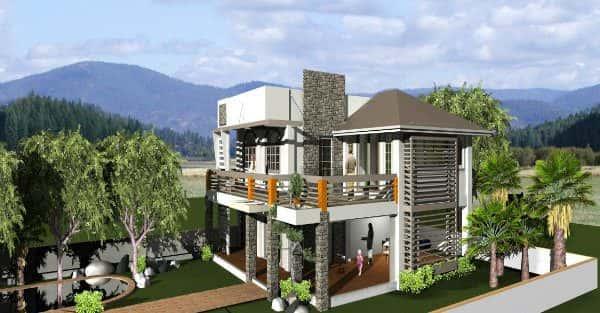 Mẫu thiết kế nhà đẹp ở Yên Bái