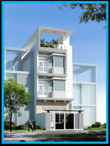 mau nha pho nhà 2 tầng 5x17m 228x300 - Mẫu thiết kế nhà 5x17m đẹp