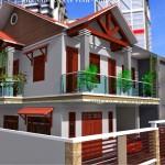 Tư vấn thiết kế nhà 2 tầng 4x18m
