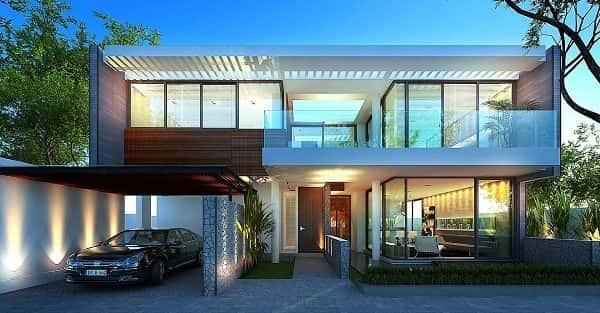 Tư vấn mẫu thiết kế nhà đẹp ở Long An