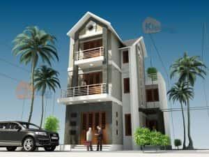 mau thiet ke nha dep 023 300x225 - Thiết kế nhà ở đẹp tại Vinh