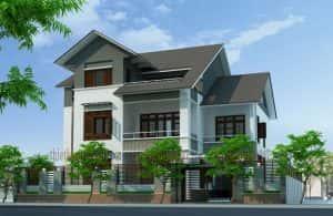 mau thiet ke nha dep 024 300x195 - Thiết kế nhà ở đẹp tại Vinh