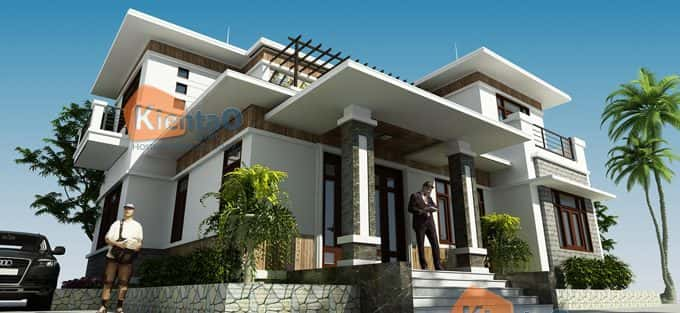 Mẫu thiết kế nhà đẹp ở Lạng Sơn