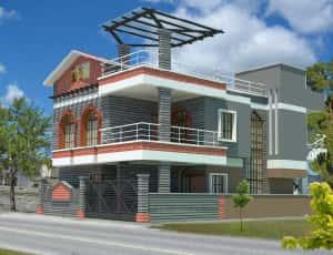 mau thiet ke nha dep tay ninh 01 300x230 - Mẫu thiết kế nhà đẹp ở Tây Ninh
