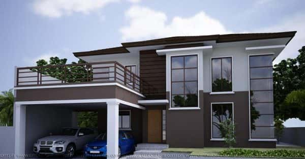 Mẫu thiết kế nhà đẹp ở Thái Bình