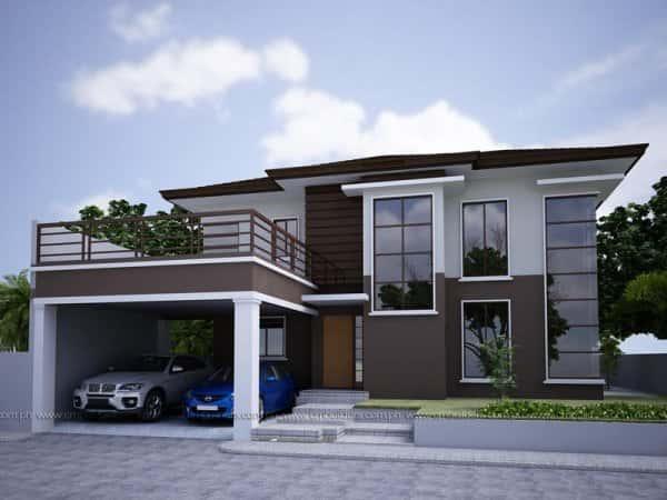 mau thiet ke nha dep thai binh - Mẫu thiết kế nhà đẹp ở Thái Bình