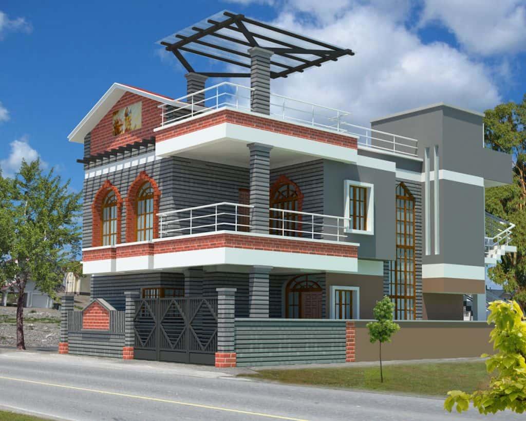 mau thiet ke nha dep thai nguyen - Mẫu thiết kế nhà đẹp ở Thái Nguyên